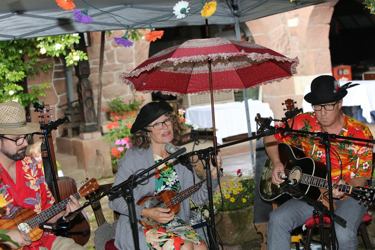 Irène et le parapluie